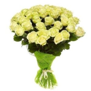 #016.  lemonade  25 роз