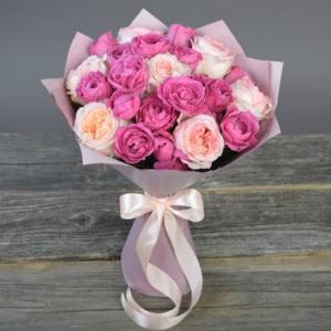 #115. Розы пионовидные 13 шт