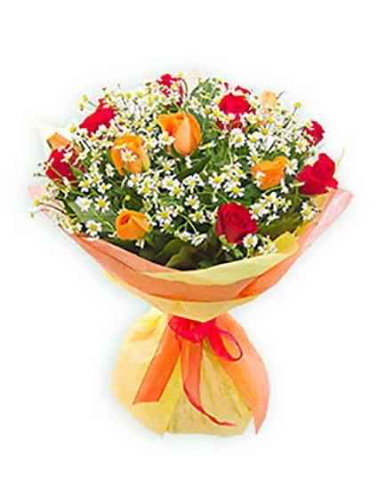 #070 Розы ми 15 шт, камилла