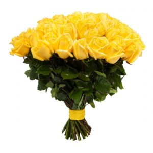 #015. Розы желтые  25шт