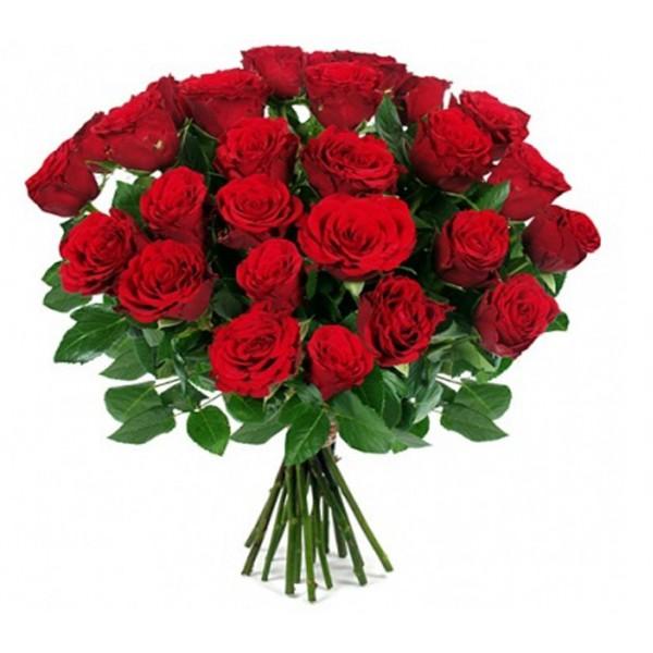 #021. 25 роз