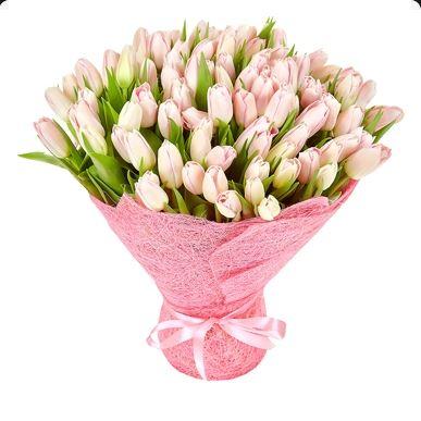 #045. Тюльпаны 49 шт