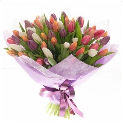 #044. Тюльпаны 41 шт