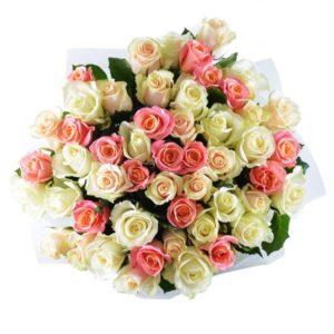 #228. Розы Голландия 51 шт в упаковке 60см