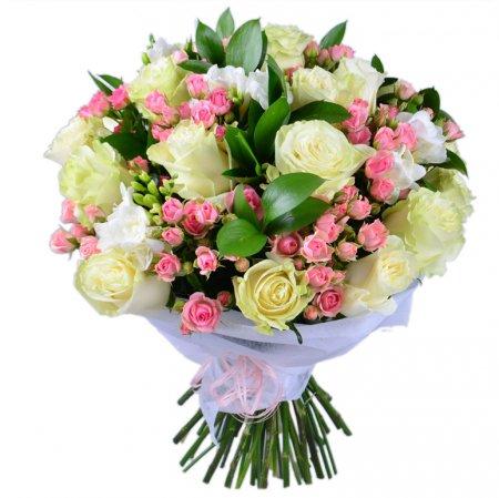 #212. Розы, фрезия, розы кустовые