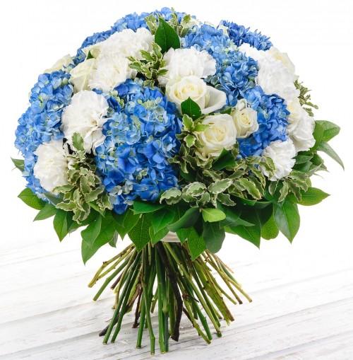 #198. Розы, гортензии, гвоздики
