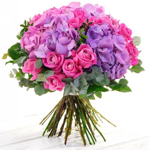 #186. Розы, гортензии, эвкалипт