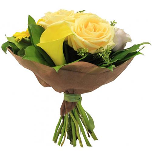 #202. Розы, калла, гербера