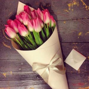 #167. Тюльпаны 15 шт