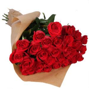 Букеты из 25 роз