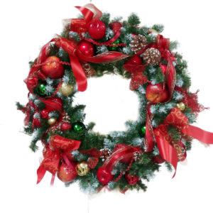 #445 Венок рождественский