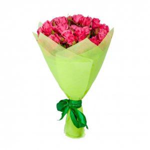 # 340 мини розы 15шт и упаковочка