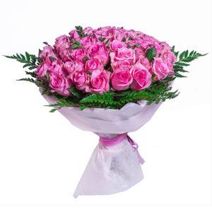 #427 кенийская роза 51шт 50см