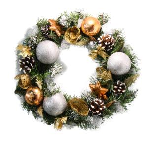 #447 Венок рождественский