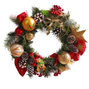 #448 Венок рождественский
