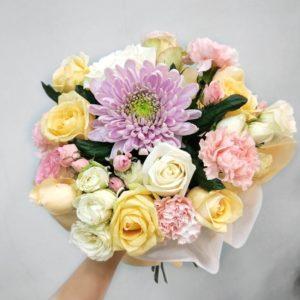 #454 букет из роз