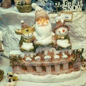 #574 Дед Мороз со Снеговиком и Оленем