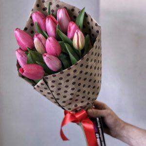 #031. 15 тюльпанов