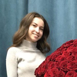 # 596 301 роза в коробке