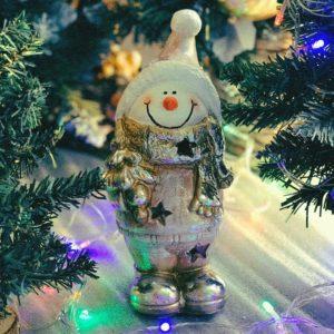 #549 Снеговичек с ёлочкой