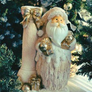 #546 Дед мороз у колонны