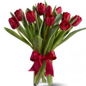 #163. Тюльпаны 11 шт