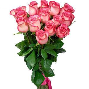 #135. Розы Blush 15шт