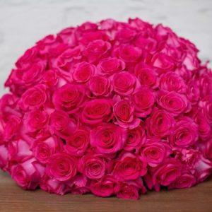 #431 букет из 101 розы PINK FLOYD
