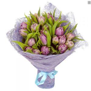 #030. Тюльпаны 17шт