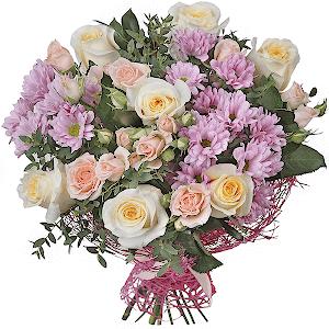 #114. Розы и хризантемы