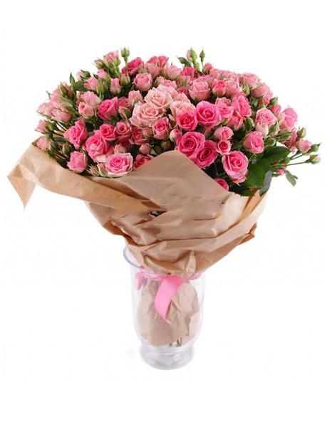 #170. Роза кустовая 15 шт