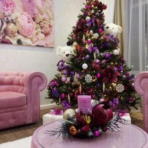 # 470 Новогоднее оформление елки
