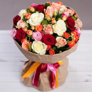 #181. Розы, кустовые розы 15 шт