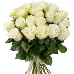 #138. Розы белые 25шт