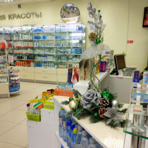 # 477 оформление аптеки ул.Дубровинского 50