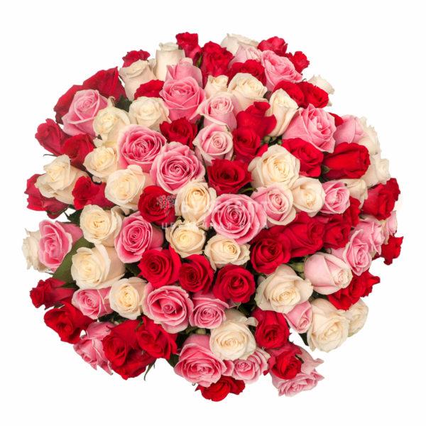#228. Розы 51 шт в упаковке 60см