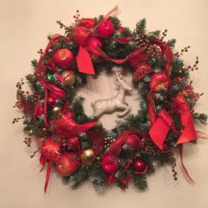 # 283 Венок рождественский
