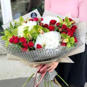 Цветы для семьи на день рождения